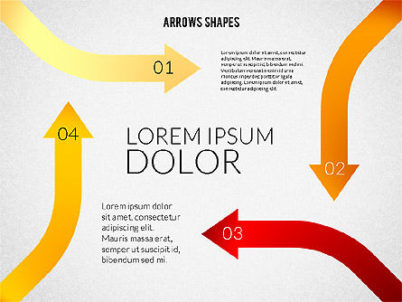 Shapes: Diagrams with Arrows #02286