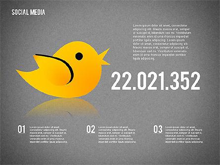 Social Media Presentation, Slide 15, 02292, Presentation Templates — PoweredTemplate.com