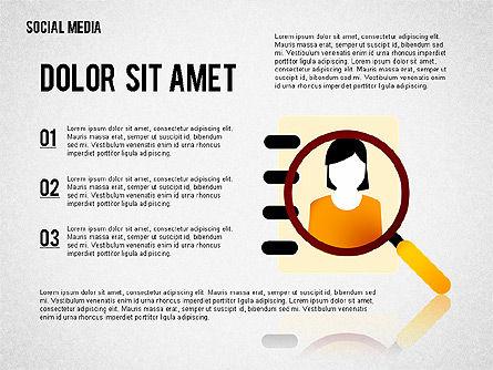 Social Media Presentation, Slide 2, 02292, Presentation Templates — PoweredTemplate.com
