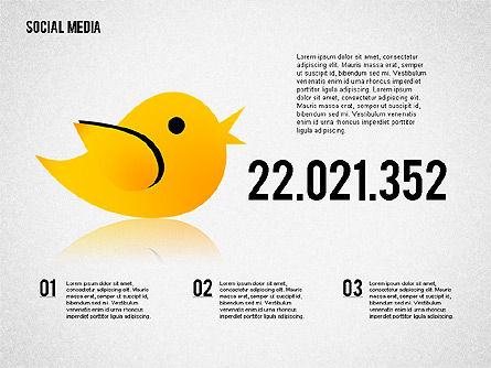 Social Media Presentation, Slide 7, 02292, Presentation Templates — PoweredTemplate.com