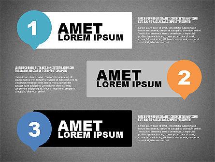 Steps Infographics Template, Slide 11, 02293, Infographics — PoweredTemplate.com