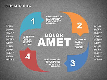 Steps Infographics Template, Slide 12, 02293, Infographics — PoweredTemplate.com