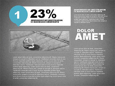 Steps Infographics Template, Slide 13, 02293, Infographics — PoweredTemplate.com