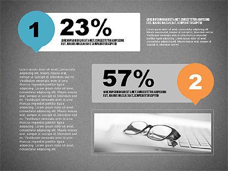 Steps Infographics Template, Slide 14, 02293, Infographics — PoweredTemplate.com