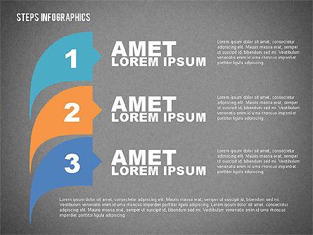 Steps Infographics Template, Slide 15, 02293, Infographics — PoweredTemplate.com