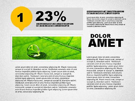 Steps Infographics Template, Slide 5, 02293, Infographics — PoweredTemplate.com