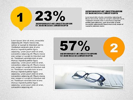 Steps Infographics Template, Slide 6, 02293, Infographics — PoweredTemplate.com
