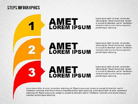 Steps Infographics Template, Slide 7, 02293, Infographics — PoweredTemplate.com
