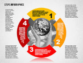 Infographics: Steps Infographics Template #02293