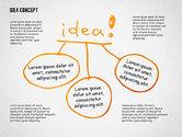 Presentation Templates: Idea doodle diagrammen #02296