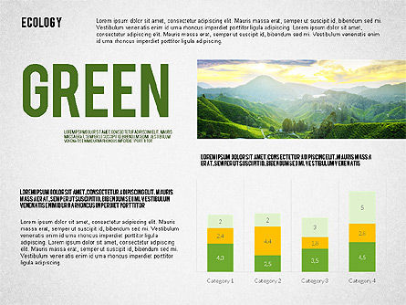 Ecology Word Cloud Presentation Template, Slide 3, 02297, Presentation Templates — PoweredTemplate.com