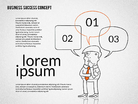 Presentation Templates: Business Success Concept Diagram #02299