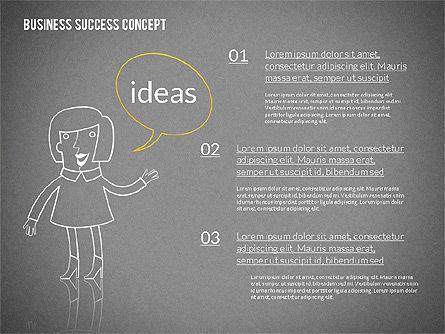 Business Success Concept Diagram, Slide 10, 02299, Presentation Templates — PoweredTemplate.com