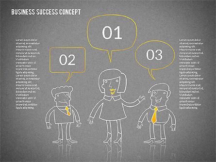 Business Success Concept Diagram, Slide 16, 02299, Presentation Templates — PoweredTemplate.com
