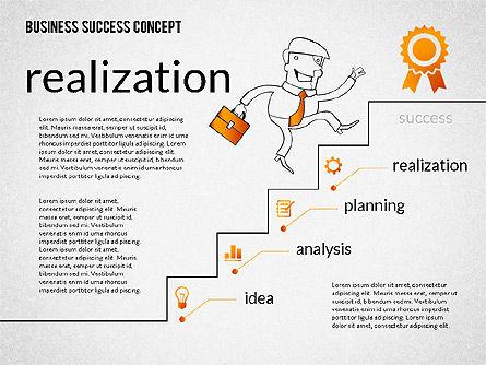 Business Success Concept Diagram, Slide 6, 02299, Presentation Templates — PoweredTemplate.com