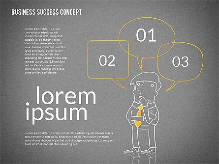 Business Success Concept Diagram, Slide 9, 02299, Presentation Templates — PoweredTemplate.com