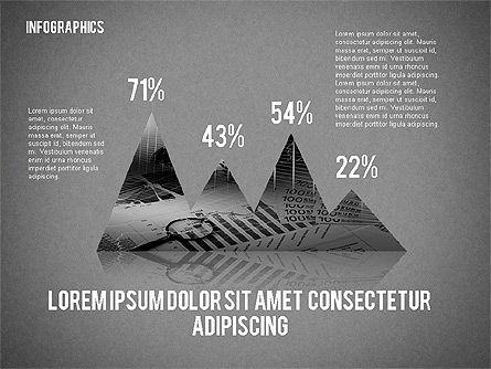Business Presentation with Infographics, Slide 10, 02300, Presentation Templates — PoweredTemplate.com