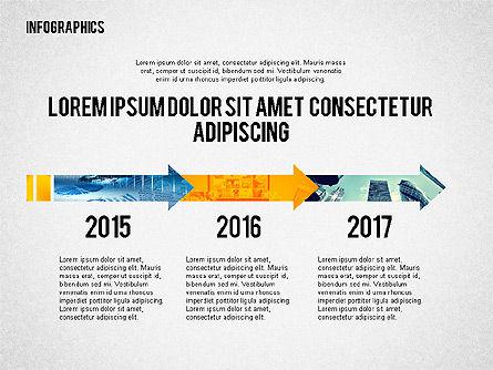 Business Presentation with Infographics, Slide 3, 02300, Presentation Templates — PoweredTemplate.com