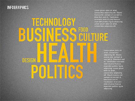 Business Presentation with Infographics, Slide 9, 02300, Presentation Templates — PoweredTemplate.com