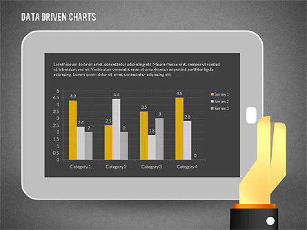 Touchpad Data Driven Diagram, Slide 10, 02304, Data Driven Diagrams and Charts — PoweredTemplate.com