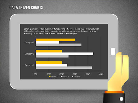 Touchpad Data Driven Diagram, Slide 13, 02304, Data Driven Diagrams and Charts — PoweredTemplate.com
