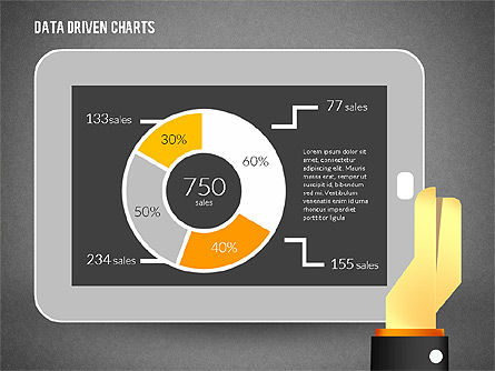Touchpad Data Driven Diagram, Slide 15, 02304, Data Driven Diagrams and Charts — PoweredTemplate.com