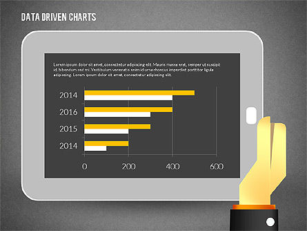 Touchpad Data Driven Diagram, Slide 16, 02304, Data Driven Diagrams and Charts — PoweredTemplate.com