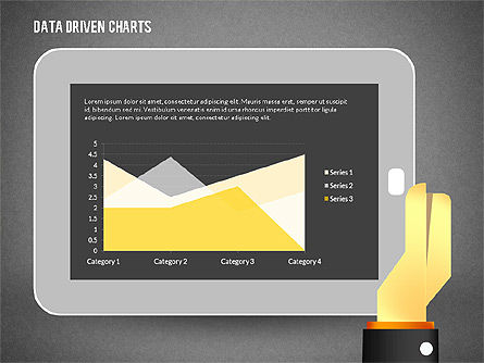 Touchpad Data Driven Diagram, Slide 9, 02304, Data Driven Diagrams and Charts — PoweredTemplate.com