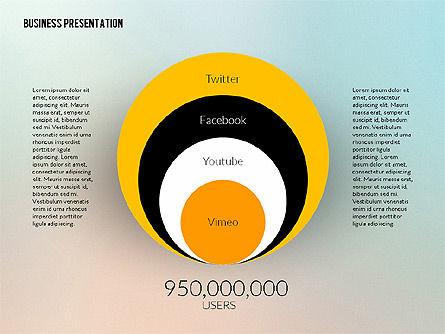 Business Presentation in Modern Flat Style, Slide 6, 02305, Presentation Templates — PoweredTemplate.com