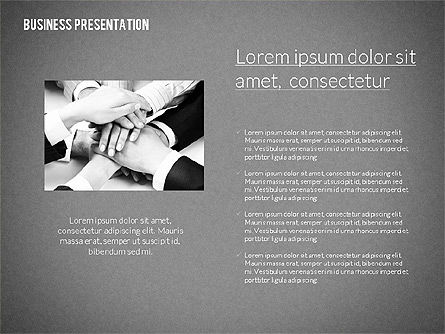 Modern Business Presentation in Flat Design, Slide 11, 02308, Presentation Templates — PoweredTemplate.com