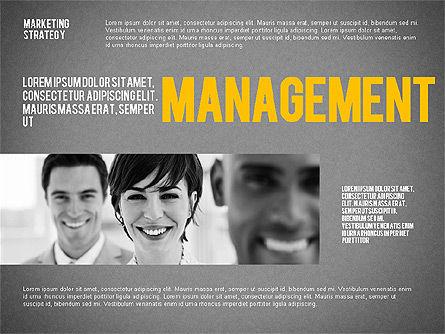 Marketing Strategy Presentation Template, Slide 12, 02310, Presentation Templates — PoweredTemplate.com