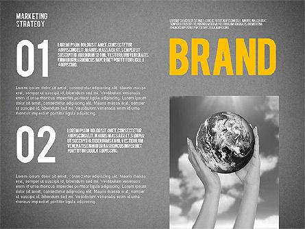 Marketing Strategy Presentation Template, Slide 15, 02310, Presentation Templates — PoweredTemplate.com