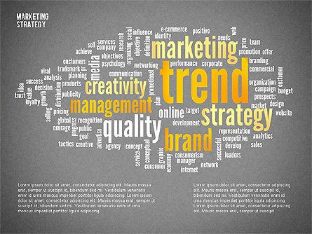 Marketing Strategy Presentation Template, Slide 9, 02310, Presentation Templates — PoweredTemplate.com