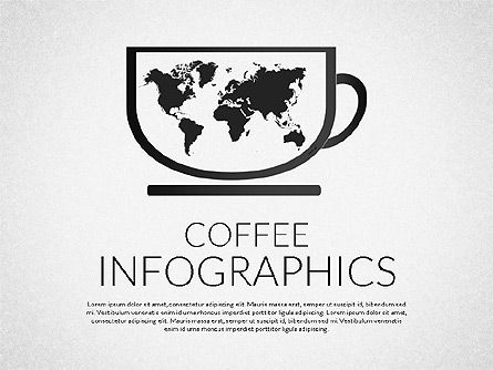 Coffee Infographics, 02311, Infographics — PoweredTemplate.com