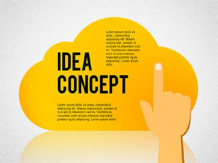 Presentation Templates: Successful Idea Concept #02312