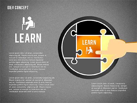 Successful Idea Concept, Slide 12, 02312, Presentation Templates — PoweredTemplate.com