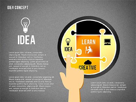 Successful Idea Concept, Slide 14, 02312, Presentation Templates — PoweredTemplate.com