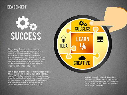 Successful Idea Concept, Slide 15, 02312, Presentation Templates — PoweredTemplate.com