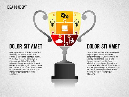 Successful Idea Concept, Slide 2, 02312, Presentation Templates — PoweredTemplate.com
