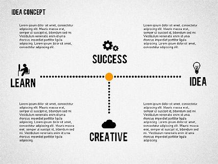 Successful Idea Concept, Slide 3, 02312, Presentation Templates — PoweredTemplate.com