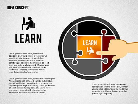 Successful Idea Concept, Slide 4, 02312, Presentation Templates — PoweredTemplate.com