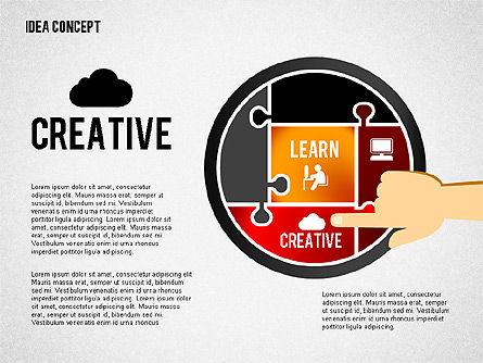 Successful Idea Concept, Slide 5, 02312, Presentation Templates — PoweredTemplate.com
