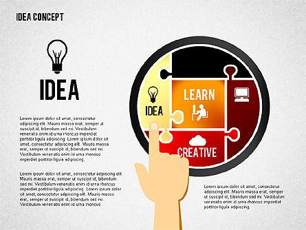 Successful Idea Concept, Slide 6, 02312, Presentation Templates — PoweredTemplate.com