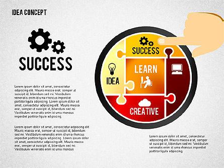 Successful Idea Concept, Slide 7, 02312, Presentation Templates — PoweredTemplate.com