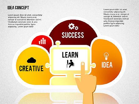 Successful Idea Concept, Slide 8, 02312, Presentation Templates — PoweredTemplate.com
