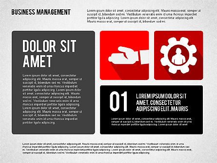 Business Management Presentation Template, Slide 3, 02314, Presentation Templates — PoweredTemplate.com