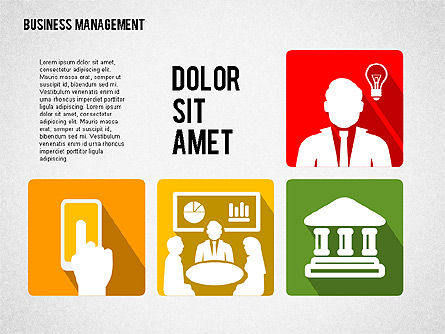 Business Management Presentation Template, Slide 4, 02314, Presentation Templates — PoweredTemplate.com