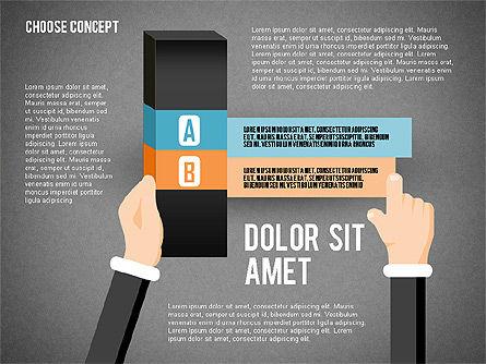 Choice Concept, Slide 10, 02315, Stage Diagrams — PoweredTemplate.com