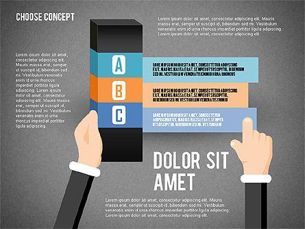 Choice Concept, Slide 11, 02315, Stage Diagrams — PoweredTemplate.com