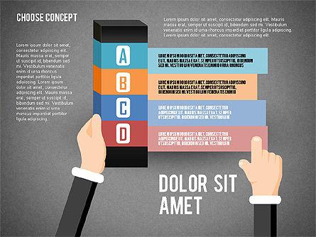 Choice Concept, Slide 12, 02315, Stage Diagrams — PoweredTemplate.com